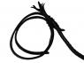 Кнут кожаный 3 метра (плетение в 2 слоя)